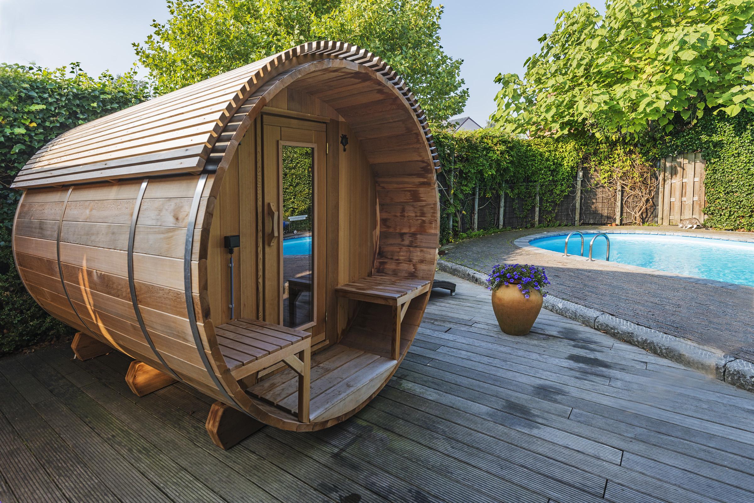 Privé Sauna Nymphaea